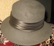 Шляпка женская фетровая