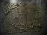 Роспись стены и потолка в гостиной Слон Декоративная штукатурка ДОНЕЦК