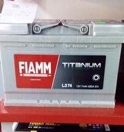 FIAMM TITANIUM 6СТ-74Аз R – аккумулятор автомобильный