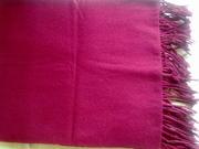 Шарф (палантин) бордового цвета