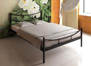 Продам новую металлическую кровать + матрас