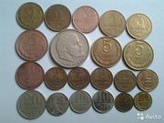 Монеты ССС и монеты России