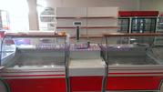 Холодильное оборудование. Холодильные витрины,  боннеты,  регалы.