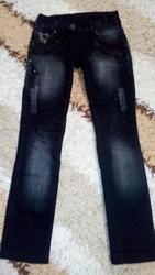 Черные джинсы на девочку г. Мариуполь