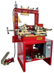 Оборудование для правки и рихтовки дисков.Станок Радиал м2а-ножная гидравлика.Н.