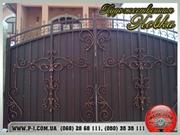 Ворота кованые,  сварные,  решетчатые,  арочные под заказ,  художественная
