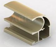 Профиля алюминиевые для раздвижных систем X-SEK