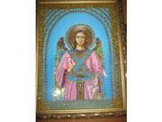 Икона бисером Ангел-хранитель