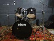 Ударная Установка DDRUM Diablo Death Punx Black пластики Remo, Evans