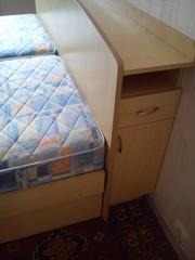 Спальный гарнитур,  сделанный на заказ,  б/у в отличном состоянии