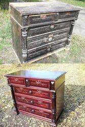 Реставрация старой мебели и музыкальных инструментов