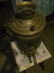 В связи с выездом Продам коллекционный Самовар (медь)