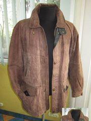 Оригинальная кожаная мужская куртка ECHTES LEDER. Германия. Лот 277