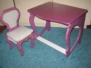 Продаю столик и стульчик для маленькой принцессы