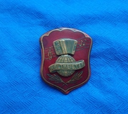 Значок,  эмблема Weltmeister.