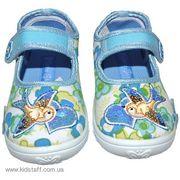 Продам детскую обувь Home Story текстильные тапочки р. 22 девочка