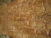 Гипсовая плитка под дикий камень