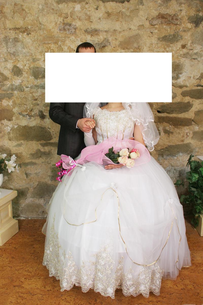 Свадебное платье на 7 колец